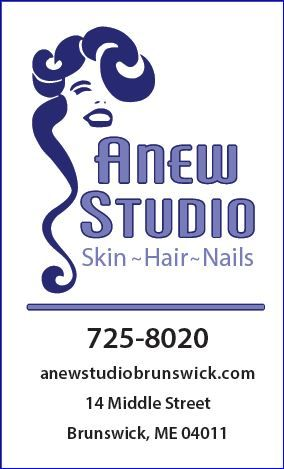 Anew Hair and Skin Studio Logo